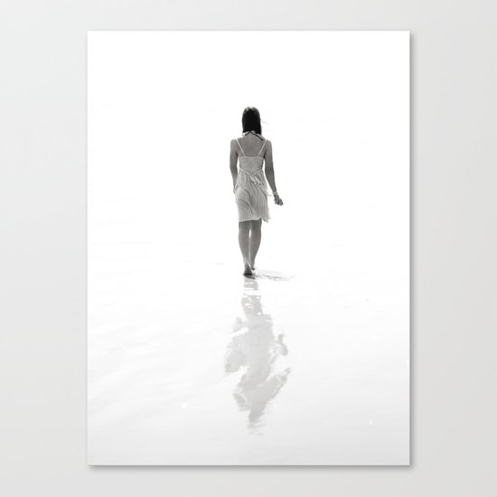 Good luck exploring the infinite abyss. Canvas Print