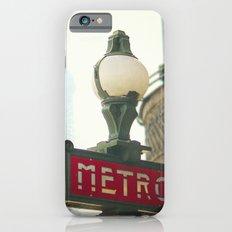 Metro in Paris Slim Case iPhone 6s