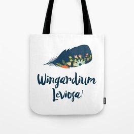 Wingardium leviosa! Tote Bag