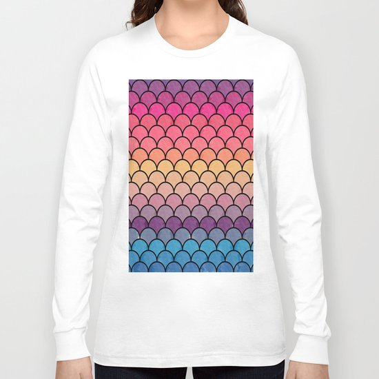 Watercolor Lovely Pattern CI Long Sleeve T-shirt