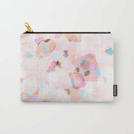 Terrazzo Crystals I. Carry-All Pouch