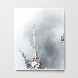 Rocket fev23 Metal Print