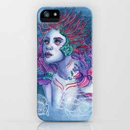 Gaia Of The Deep iPhone Case