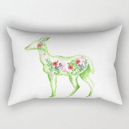 Garden Doe Rectangular Pillow