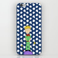 le petit prince iPhone & iPod Skins featuring Le petit prince by EnelBosqueEncantado
