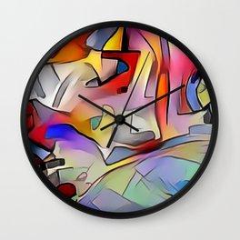 Expression I Wall Clock