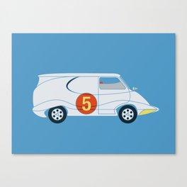Tha Mach5 Van Canvas Print