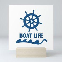 Boat Life Mini Art Print