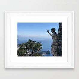 Capri Italy Framed Art Print