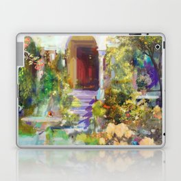 Spanish Garden Laptop & iPad Skin