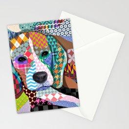 Beagle Dog 161 Stationery Cards
