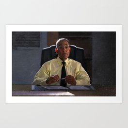Gus Fring In The Office At Los Pollos Hermanos - Better Call Saul Art Print