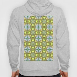 Abstract flower pattern 5a Hoody