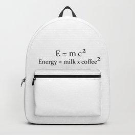 Coffee E=mc2 Backpack