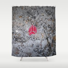 Pictograph Shower Curtain