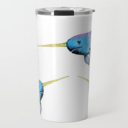 Narwhals Travel Mug