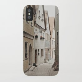 Italian Alley - Muted Tones iPhone Case