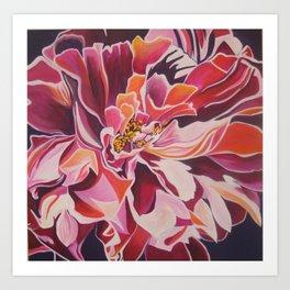 """Peony for Amanda"" Art Print"