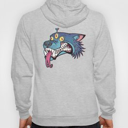 PsyWolf (no text) Hoody