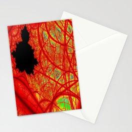Rainbow Fractal 2 Stationery Cards