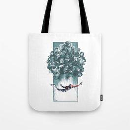Falling Shepard Tote Bag