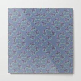 Cranesbill Purple Metal Print