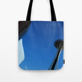 Seattle reaches the sky! Tote Bag