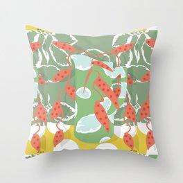 ceramic jar Throw Pillow