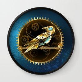 Mechanical Bird ( Steampunk ) Wall Clock