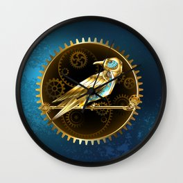 Mechanical Bird ( Steampunk ) Wall Clock