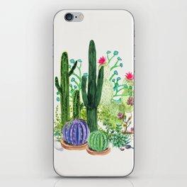 Cactus Garden iPhone Skin