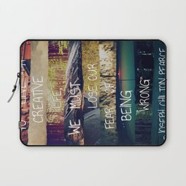 Live A Creative Life Laptop Sleeve