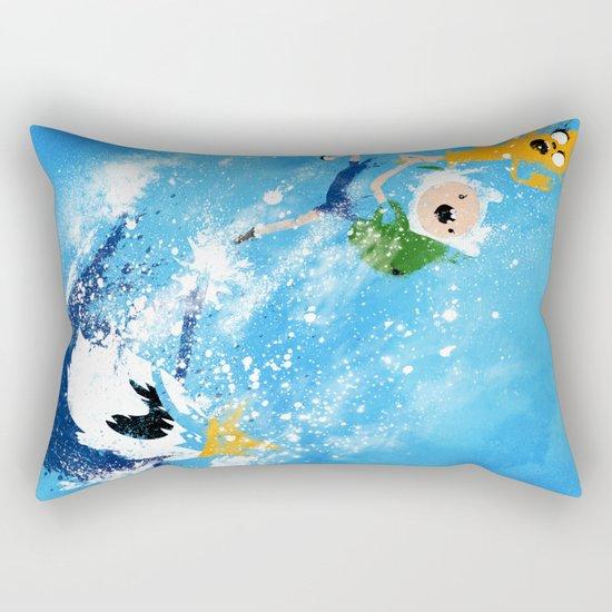 Battle Time!! Rectangular Pillow