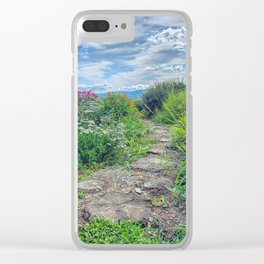 Pathway to Bliss Clear iPhone Case