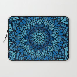 Blue Mandala Laptop Sleeve