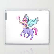 Centaur Pegasus Unicorn Witch Girl Laptop & iPad Skin
