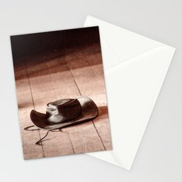 Cowboy hat Stationery Cards