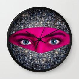Galactic Veil Wall Clock