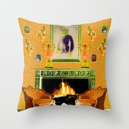 Drawing Room Throw Pillow