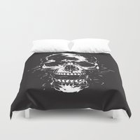 scream Duvet Covers featuring Scream by Balazs Solti