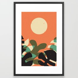 Jungle Sun #2 Framed Art Print
