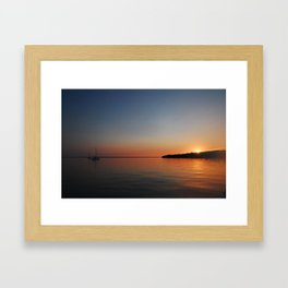Bahamian Sunset Framed Art Print