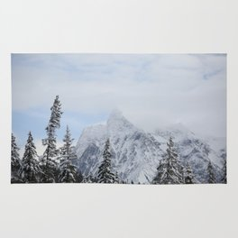 Man and Mountains Rug