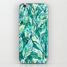 BANANA LEAF JUNGLE iPhone & iPod Skin