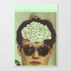 the human brain Canvas Print