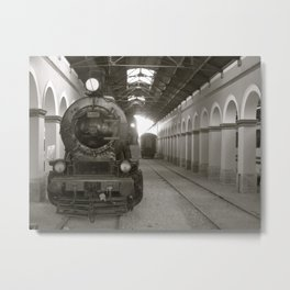 Out of Commission Metal Print