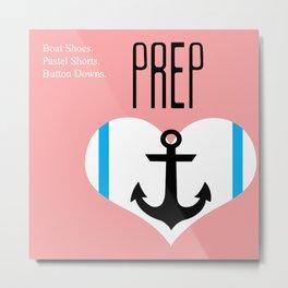 Love Prep Metal Print