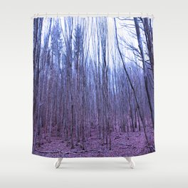 Trees of Olympus Shower Curtain