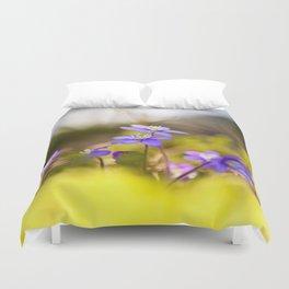 Wildflowers Spring Forest #decor #society6 #buyart Duvet Cover