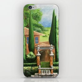 Villa of Lago d' Como iPhone Skin